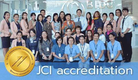 FIRST JCI Accredited Bangkok Dental Center
