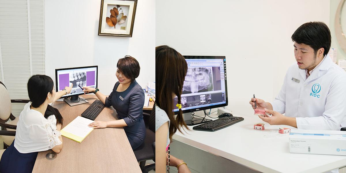 bangkok dental center consultation room
