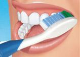 dental clinic teeth brushing