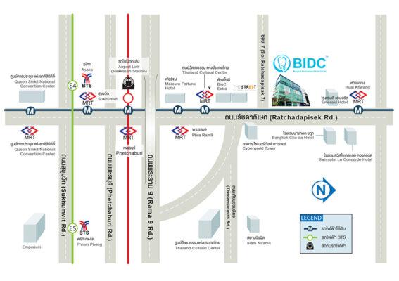 thailand dental map